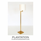 Adelia Floor Lamp | Gold