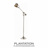 Devon Nickel Floor Lamp