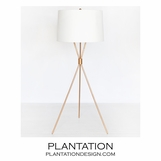 Elton Floor Lamp | Gold