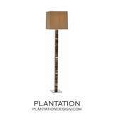 Henri Faux Horn Floor Lamp