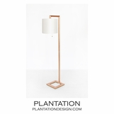 June Floor Lamp | Gold Leaf