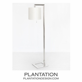 June Floor Lamp | Nickel