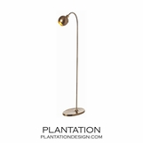 Moda Brass Floor Lamp | No. 1