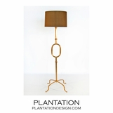 Theta Floor Lamp | Gold