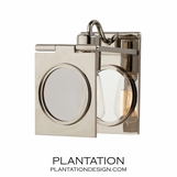 Dominic Sconce   Polished Nickel