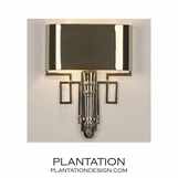 Torchiere Sconce | Nickel