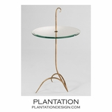 Parasol Iron Side Table