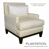 Wysteria Chair | Loose Back