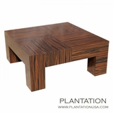 7-Inch Leg Coffee Table