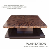 Cantilever Coffee Table | Macassar Square