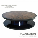 Cantilever Coffee Table | Oval