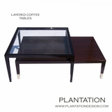 Layered Coffee Tables