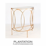 Anthony Console Table | Gold