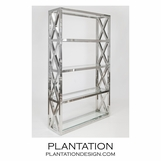 Damian Shelf | Polished Steel