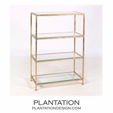 Faye Iron Shelf | Gold
