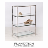 Faye Iron Shelf | Nickel