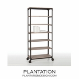 Keating Iron & Wood Shelf