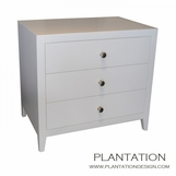 Cohen Side Table | 3-Drawer