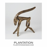 Antelope in Brass