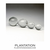 Raindrop Glass Spheres | Clear