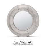 Lifesaver Wall Mirror | Silver