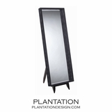 Outback Floor Mirror | Black