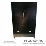 W Armoire | 3-Drawer
