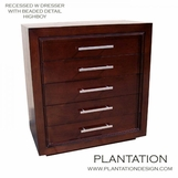 Recessed W Dresser | 5-Drawer