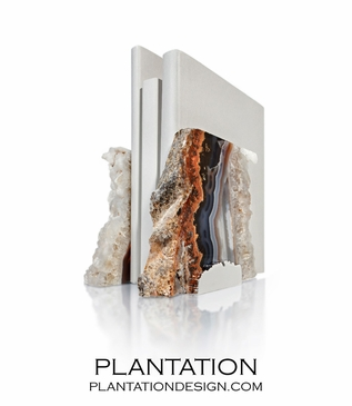 Loa Agate Bookends | No. 1