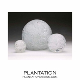 Galaxy Glass Paperweights | Clear