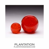 Galaxy Glass Paperweights | Red