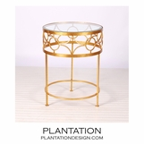 Cuff Side Table | Gold