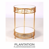 Dante Side Table | Gold