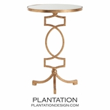 Greene Side Table | Gold