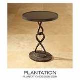 Lacroix Side Table | Brown