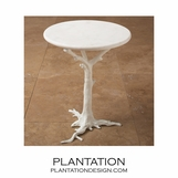 Redwood Side Table | White