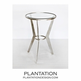 Rocket Side Table | Silver