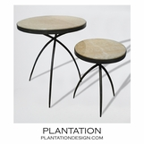 Spider Iron Tables | Onyx