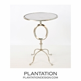 Theta Side Table | Silver
