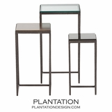 Argent Nesting Tables Set | Short