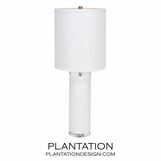 Neeson Table Lamp | White