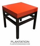 Chinese Cubed Side Table