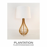 Austin Table Lamp | Gold