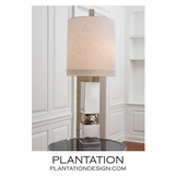 Balance Table Lamp | Polished Nickel