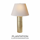 Brent Table Lamp | Brass