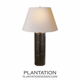 Brent Table Lamp | Dark Grey