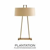 Rooney Lamp | Satin Brass
