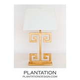 Santorini Table Lamp | Gold