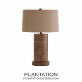 Sonoma Zinc Table Lamp