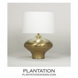 Thalia Table Lamp | Brass